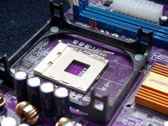 Principales componentes de una placa base
