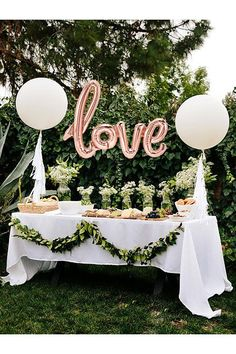 Bridal Shower Decor - Rose Gold Love Balloon - Rose Gold Balloons - Engagement Party Decor - Bridal Shower Ideas - Valentines Day - Wedding Decorations - Balloons - Rustic Weddings #rosegold #bridalshower #bridalshowers #bridalshowerideas #engagementparties #love #valentinesday #balloons #weddingphotography #wedding #weddings #weddingideas #weddinginspo #weddingdresses #weddingflowers #rusticweddings #rusticbeddingideas