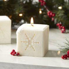 Birch Lane Snowflake Candle