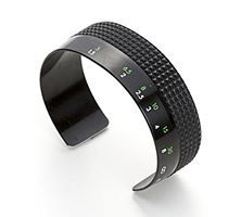 Recycled Camera Lens Cuff Bracelets