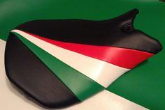 Italian theme for Ducata bike Italian Theme, Bike Seat
