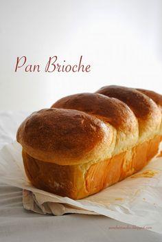 Pane, burro e alici: Pan brioche con lievito madre