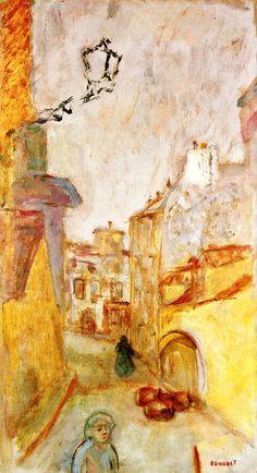 ۩۩ Painting the Town ۩۩ city, town, village & house art - Pierre Bonnard | La Ruelle, 1913