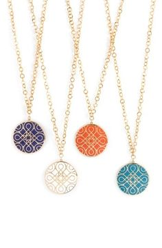 Love these necklaces!
