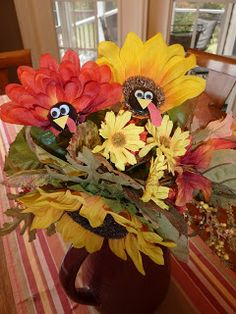 Ramblings of a Crazy Woman: Thanksgiving Craft