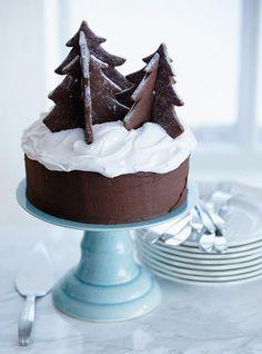 christmas cake # Noël / Gâteau de Noël.