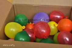Fill baloons with notes, candy, money and mail it to a distant birthday kid.  It will be cheap to ship and lots of fun!