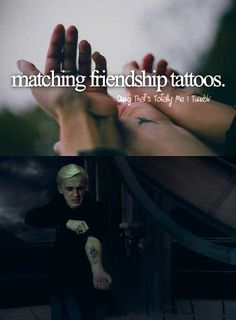 Many wizards were under the impression that the Dark Mark was a symbol of a Death Eater's loyalty to evil. However, Voldemort simply wanted everyone to have matching friendship tattoos...