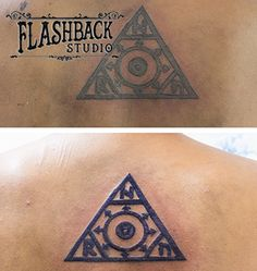Touch up back tattoo