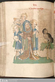 306 [151v] - Ms. Carm. 1 (Ausst. 47) - Das Buch der Natur - Page - Mittelalterliche Handschriften - Digitale Sammlungen  Hagenau, [um 1440]