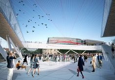 Joel Kerner, Chris Miller, Kyle Faulkner proposal for Viru Square as part of the Tallinn Architecture Biennale