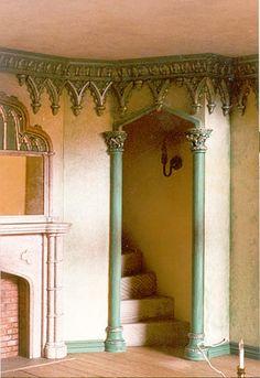 Sue Cook Miniatures - A Gothic doorway