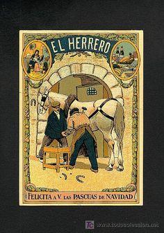 Felicitacion navideña de oficios: EL HERRERO - Foto 1