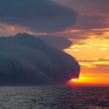 Edge of the Storm: When you are in the middle of a storm it may feel like there are no perimeters on it, ever. But whatever storm you may be in, God is in control of it and it has an end.