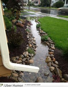 Drainage Ideas For Backyard french drains portland oregon Lawn Care Just Got Easier Underground Downspouts Are Easy To Install Mow Right Over It Never Needs Maintenance Works With Any Style Downspout