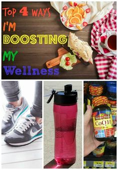 Top 4 Ways I'm Boosting my Wellness! #NatureMade #IC #ad #healthy