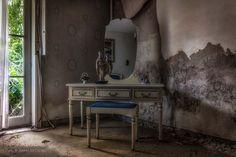 Manoir Margaretha, België, huisje, verlaten, urbex