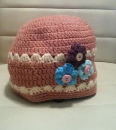 handmade crochet hat Crochet Hats, Beanie, Handmade, Knitting Hats, Hand Made, Beanies, Craft, Handarbeit, Beret