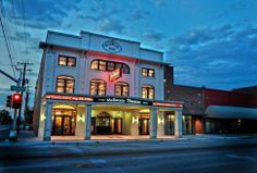 Take in a show at the McSwain #Theatre & #Art Gallery in #Ada. (Photo by Luke Cypert.)