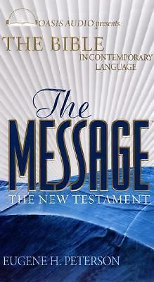 The Message : New Testament by Eugene H. Peterson (2003, Cassette, Unabridged)