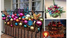 Závesné kvetináče na zimu neschovávajte, toto je úžasné: 17 nápadov, ako z nich vykúzliť čarovné adventné dekorácie! Ornament Wreath, Ornaments, Christmas Tree, Wreaths, Holiday Decor, Home Decor, Lemon, Teal Christmas Tree, Decoration Home
