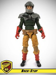 Back-Stop - G.I. Joe & Cobra customs