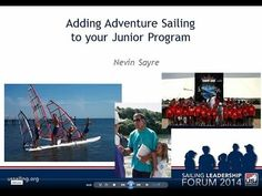 Getting kids into sailing and keeping them there - the challenges, issues and possible solutions. Clear well presented video. Discover sailing. Learn to sail. Sail for life !