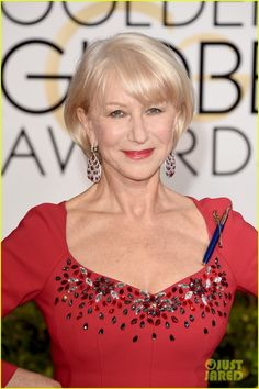 Dame Helen Mirren wore a pen to show her support for free speech. Description from annelangford.com. I searched for this on bing.com/images