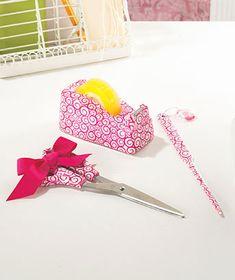 cute secret pal gift idea Cute Office, Office Ideas, Diy Ideas, Craft Ideas, Decor Ideas, Book Crafts, Diy Crafts, Secret Sister Gifts, Tape Dispenser