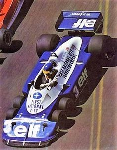 「ronnie peterson tyrrell p34」の画像検索結果