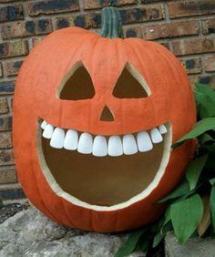 Тыква после посещения стоматолога #стоматология #dentistry