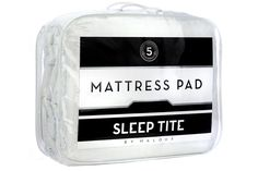 Sleep Tite By Malouf Mattress Pad Quilted Mattress Pad Filled With Gelled Microfiber Queen Mattress Pad Queen, Best Mattress, Mattress Covers, College Necessities, Back To School Essentials, Winthrop University, Dorm Room Checklist, Affordable Mattress, Dorm Room Bedding