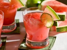 You can't have a Cinco de Mayo celebration without margaritas. Sweeten it up a bit by adding agave nectar and cubes of juicy watermelon.