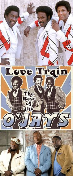 The O'Jays are Eddie Levert, Walter Williams & Eric Grant | Past Members: Bill Isles, Bobby Massey, William Powell (deceased), Sammy Strain & Nathaniel Best