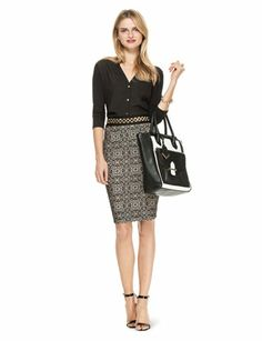 Such a gorgeous skirt. Charm City | Womens' Outfits | THE LIMITED