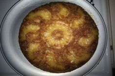 Pineapple-Banana Upside-Down Cake. Photo by ledbythelamb