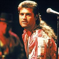 The Mullet...business in the front, party in the back!! LOL