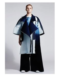 Artfully Deconstructed Menswear - The Ximon Lee Graduate Collection Displays Oversized Elements (GALLERY)