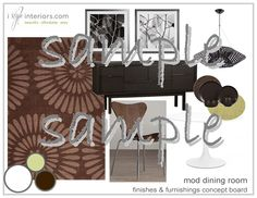 If you like crisp, clean and energetic spaces with rich colors and snappy furnishings this is for you.