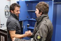 Alex Del Piero & Noel Gallagher