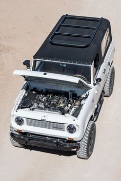 New Vintage: A Cummins-Powered Scout 800 Custom Lifted Trucks, Custom Truck Parts, Diesel Trucks, Ford Trucks, International Scout Ii, International Harvester, Scout Truck, Scout 800, Car Tent