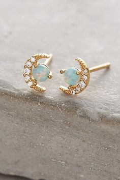Opal Crescent Earrings                                                                                                                                                                                 More