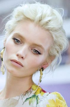 Abbey Lee Kershaw (platinum blonde hair)