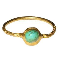 Renaissance Gemstone Ring-circa early 1600's