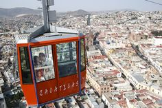 Let taxiwagon.com take you there: Zacatecas from above...such an amazing view!