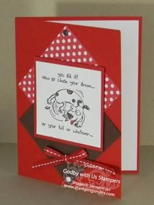 Stampin' Up! Giggle Greetings card idea