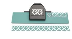 EK Success - Paper Shapers - Slim Profile - Large Edger Punch - Chinese Knot Chain