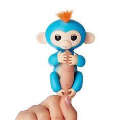 Fingerlings Interactive Baby Monkey Toy Boris by WowWee Finger Motion ORIGINAL #WowWee