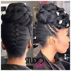 Beautiful Updo - http://community.blackhairinformation.com/hairstyle-gallery/updos/beautiful-updo/