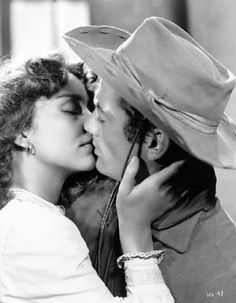 Jennifer Jones and Gregory Peck for Duel in the Sun (1946)